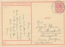 Nederland - 1937 - 7,5 Cent Veth, Briefkaart G236b - Breda - Echt Gebruikt Middelburg Naar Freudenstadt / Deutschland - Entiers Postaux