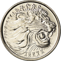 Monnaie, Éthiopie, 25 Cents, 2005, Royal Canadian Mint, SPL, Copper-Nickel - Etiopía