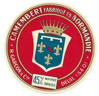 Etiqu CAMEMBERT R.GARCON & Cie DEUIL S & O - Cheese