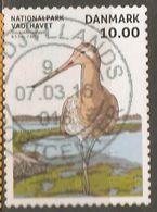 Denmark: 1 Used Stamp From A Set, National Park - Wadden Sea Bird, 2015, Mi#1815 - Birds