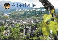 73 ALBERTVILLE Cpm Une Ville à La Montagne - Albertville
