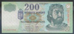 Ref. 4081-4584 - BIN HUNGARY . 1998. HUNGARY 200 FORINT 1998 - Hungary