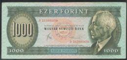Ref. 4079-4582 - BIN HUNGARY . 1983. HUNGARY 1000 FORINT 1983 - Hungary