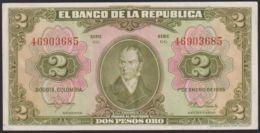 Ref. 3899-4336 - BIN COLOMBIA . 1955. COLOMBIA 2 PESOS 1955 - Colombia