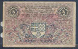 Ref. 3643-4080 - BIN YUGOSLAVIA . 1919. YUGOSLAVIA 1/2 DINARA 1919 - Yugoslavia