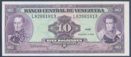 Ref. 3522-3958 - BIN VENEZUELA . 1992. VENEZUELA 10 BOLIVARES 1992 - Venezuela