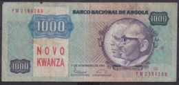 Ref. 3419-3842 - BIN ANGOLA . 1987. ANGOLA 1000 KWANZAS 1987 - Angola