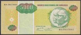 Ref. 3417-3840 - BIN ANGOLA . 1995. ANGOLA 5000 KWANZAS 1995 - Angola