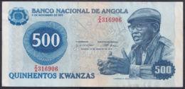 Ref. 3414-3837 - BIN ANGOLA . 1979. ANGOLA 500 KWANZAS 1979 - Angola
