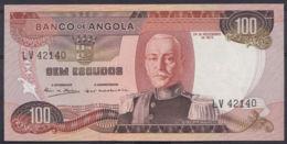 Ref. 3400-3823 - BIN ANGOLA . 1972. ANGOLA 100 ESCUDOS 1972 - Angola