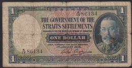 Ref. 3351-3774 - BIN SINGAPORE . 1935. SINGAPORE STRAITS SETTLEMENTS 1 DOLLAR 1935 - Singapore