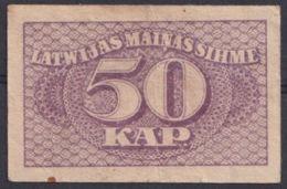 Ref. 3068-3491 - BIN LATVIA . 1920. LATVIA 50 KAPEIKAS 1920 - Latvia