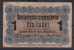 Ref. 3054-3477 - BIN LITHUANIA . 1916. LITHUANIA 1 RUBEL GERMANY 1916 - Lituania