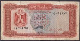 Ref. 3022-3445 - BIN LIBYA . 1972. LIBYA 1/4 DINAR 1972 - Libië