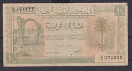Ref. 3016-3439 - BIN LIBYA . 1951. LIBYA 10 PIASTRES 1951 - Libya