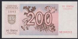Ref. 2926-3349 - BIN LITHUANIA . 1993. LITHUANIA 20 TALONAS 1993 - Litauen