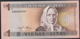 Ref. 2923-3346 - BIN LITHUANIA . 1994. LITHUANIA 1 LITAS 1994 - Lituania