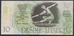 Ref. 2914-3337 - BIN LITHUANIA . 1991. LITHUANIA 10 LITAURU 1991 OLIMPIC - Lituania