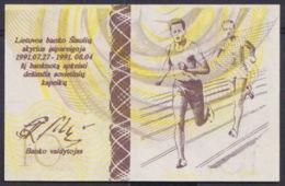 Ref. 2909-3332 - BIN LITHUANIA . 1991. LITUANIA LITHUANIA 10 CENTAURU DESIMT 1991  OLIMPIC GAMES - Lituania