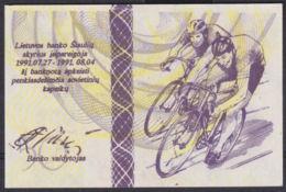 Ref. 2908-3331 - BIN LITHUANIA . 1991. LITUANIA LITHUANIA 50 CENTAURU DESIMT 1991  OLIMPIC GAMES - Lituania