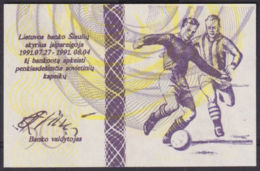 Ref. 2907-3330 - BIN LITHUANIA . 1991. LITUANIA LITHUANIA 50 CENTAURU DESIMT 1991  OLIMPIC GAMES - Lituania