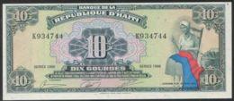Ref. 2844-3267 - BIN HAITI . 1988. HAITI 10 GOURDES 1988 - Haïti