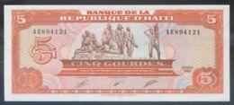 Ref. 2843-3266 - BIN HAITI . 1989. HAITI 5 GOURDES 1989 - Haïti