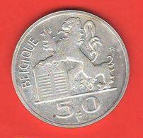Belgio 50 Franchi 1948 Francs Belgique Belgium - 1945-1951: Regencia