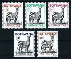 Botswana Nº Tasa-21A/5 (dent.12.1/2) Nuevo - Botswana (1966-...)