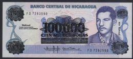 Ref. 2223-2646 - BIN NICARAGUA . 1985. NICARAGUA 100000 CORDOBAS 1985 - Nicaragua