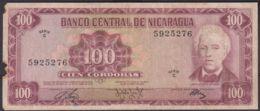 Ref. 2194-2617 - BIN NICARAGUA . 1972. NICARAGUA 100 CORDOBAS 1972 - Nicaragua