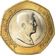 Monnaie, Jordan, Abdullah II, 1/2 Dinar, 2000, SPL, Bi-Metallic, KM:79 - Jordanie