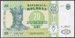 Ref. 1937-2360 - BIN MOLDOVA . 1997. MOLDOVA 20 TUGRIK 1997 - Moldova