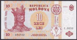 Ref. 1936-2359 - BIN MOLDOVA . 1994. MOLDOVA 10 TUGRIK 1994 - Moldova