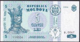 Ref. 1935-2358 - BIN MOLDOVA . 1994. MOLDOVA 5 TUGRIK 1994 - Moldova