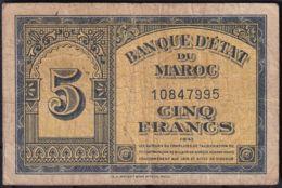 Ref. 1789-2212 - BIN MOROCCO . 1943. MAROC 50 FRANCS 1943 - Morocco