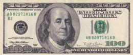 Ref. 1631-2054 - BIN UNITED STATES . 1996. USA 100 DOLLARS 1996 FRANKLIN - Estados Unidos