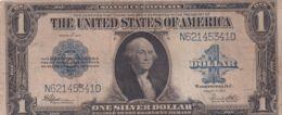 Ref. 1610-2033 - BIN UNITED STATES . 1923. USA 1 DOLLAR 1923 SILVER CERTIFICATE SELLO AZUL - Silver Certificates - Títulos Plata (1878-1923)