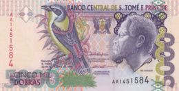 Ref. 1599-2022 - BIN SAO TOME AND PRINCIPE Islands . 1996. SANTO TOME 5000 DOBRAS 1996 - Sao Tome En Principe