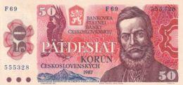 Ref. 1501-1923 - BIN CZECHOSLOVAKIA . 1987. 50 CZECHOSLOVAK KORUN BANKNOTE 1987 - Tsjechoslowakije