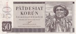 Ref. 1483-1905 - BIN CZECHOSLOVAKIA . 1950. 50 KORUN 1950 - Tsjechoslowakije