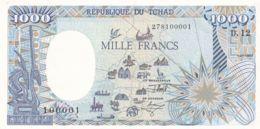 Ref. 1446-1868 - BIN CHAD . 1992. CHAD TCHAD 1000 FRANCS 1992 - Ciad