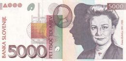 Ref. 1415-1837 - BIN SLOVENIA . 1993. SLOVENIA 5000 TOLARJEV 1993 SLOVENIJE - Estados Unidos