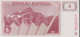 Ref. 1401-1823 - BIN SLOVENIA . 1990. SLOVENIA 5 TOLARJEV 1990 SLOVENIJE - Estados Unidos