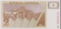 Ref. 1400-1822 - BIN SLOVENIA . 1990. SLOVENIA 2 TOLARJEV 1990 SLOVENIJE - Estados Unidos