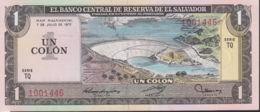 Ref. 1324-1746 - BIN EL SALVADOR . 1977. EL SALVADOR 1 COLON 1977 - Salvador
