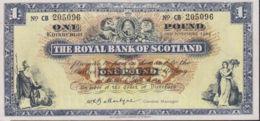 Ref. 1203-1625 - BIN GREAT BRITAIN. Scotland . 1964. SCOTLAND 1964 5 POUNDS - [ 3] Escocia
