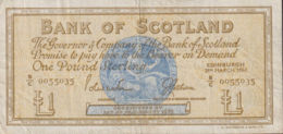 Ref. 1179-1601 - BIN GREAT BRITAIN. Scotland . 1967. SCOTLAND 1967 1 POUND - [ 3] Scotland