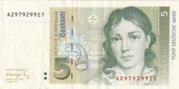 Ref. 1110-1532 - BIN GERMANY . 1991. GERMANY 5 MARK 1991 - [ 7] 1949-… : RFA - Rep. Fed. De Alemania
