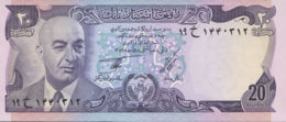 Ref. 917-1339 - BIN AFGHANISTAN . 1973. AFGANISTAN 20 AFGHANIS 1973- 1977 - Afghanistan